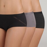 Thumbnail for your product : Dim Pack of 3 Pockets Stretch Cotton Knickers