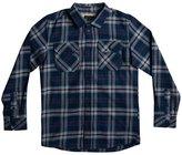 Quiksilver Boys' Fitzspeere Woven Long Sleeve Flannel Shirt (Big Kid) 8167284