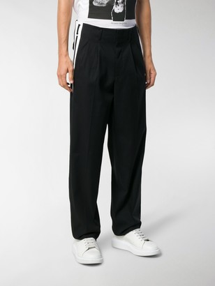 Dolce & Gabbana Side Band Loose-Fit Trousers