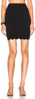 Marysia Swim Montauk Skirt in Black.