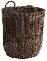 Safari Two Toned Seagrass Bushel Basket in Brown