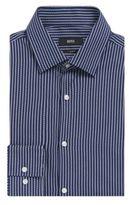 Hugo Boss Jenno Slim Fit, Italian Cotton Dress Shirt 15Blue