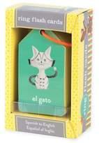 Spanish-to-English Flash Cards Ring