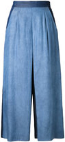 GUILD PRIME flared cropped trousers - women - Tencel - 36