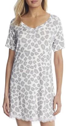Honeydew Intimates All American Leopard Knit Sleep Shirt
