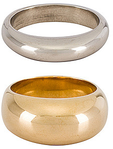 Soko Organic Mixed Metal Ring