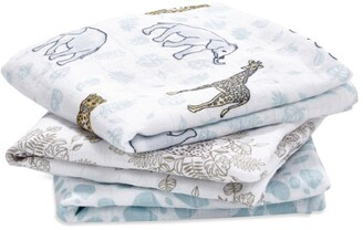 Aden Anais aden + anais Jungle Muslin Square Blanket (Pack of 3)