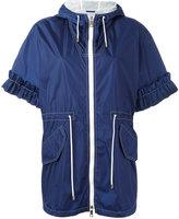 Fay cropped sleeves jacket - women - Polyamide - XS