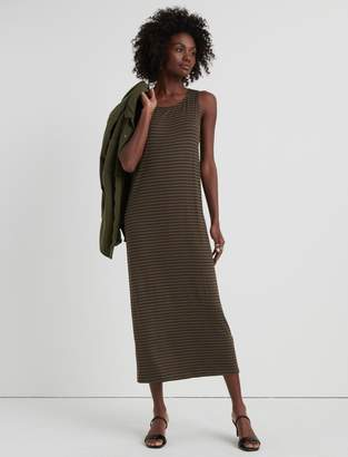 Lucky Brand Twisted Back Stripe Dress