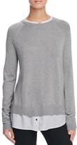 Joie Zaan Mixed Media Sweater