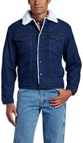 Wrangler Men's Sherpa Lined Denim Jacket