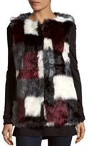 C&C California Faux Fur Vest