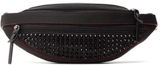 Christian Louboutin Parisnyc Spike Embellished Cross Body Bag - Mens - Black Multi