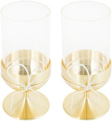 Vera Wang Wedgwood Love Knots Tealight Holders - Gold