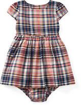 Ralph Lauren Plaid Cotton Dress & Bloomer