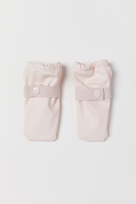 H&M Fleece-lined rain mittens