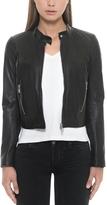 Forzieri Black Leather Women's Jacket