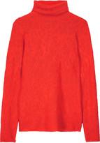 M Missoni Stretch-knit jacquard turtleneck sweater