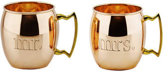 Old Dutch Set Of 2 Solid Copper 16Oz Moscow Mule Mugs