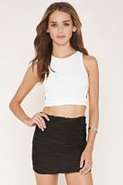 Forever 21 FOREVER 21+ Textured Knit Mini Skirt