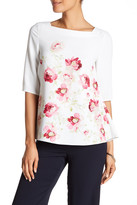 Hobbs London Rita Rose Elbow Length Blouse