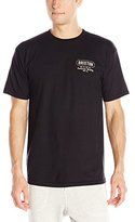 Brixton Men's Russel Short Sleeve Standard Fit T-Shirt