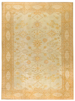 Safavieh Turkish Oushak c. 1890 Hand-Knotted Wool Rug