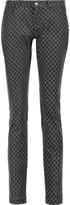 Dolce & Gabbana Mid-rise polka-dot skinny jeans