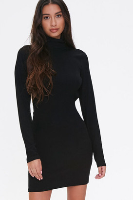Forever 21 Open-Back Turtleneck Dress