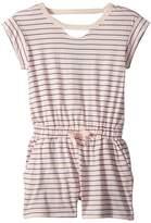 Splendid Littles Yarn-Dye Stripe Romper Girl's Jumpsuit & Rompers One Piece