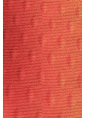 Dupont East Urban Home Geometric Wool Orange Area Rug East Urban Home Rug Size: Rectangle 2' x 4'