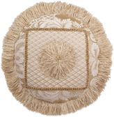 Austin Horn Collection Angelina Jacquard Round Throw Pillow