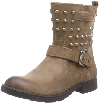 Geox Girls' JR SOFIA C Cold lined biker boots half shaft boots and bootees