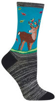Hot Sox Deer Graphic Socks