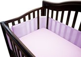 BreathableBaby Mesh Crib Liner-Fits All Cribs, Set of 2 - Pink by