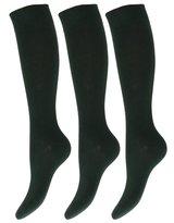 Universal Textiles Kids/Children Unisex Knee High School Socks (Pack Of 3)