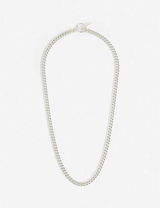 Tilly Sveaas Ltd Curb sterling silver necklace