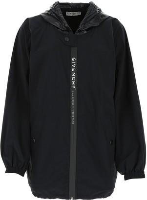 Givenchy Logo Hooded Jacket