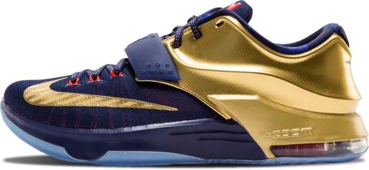 Nike KD 7 PRM 'Gold Metal' - Midnight Navy/Metallic Gold