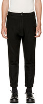 Attachment Black Wool Tapered Trousers