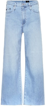 AG Jeans The Etta cropped wide-leg jeans