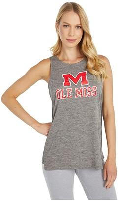 Champion College Ole Miss Rebels Marathon III Tank (Titanium) Women's Sleeveless