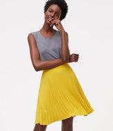 LOFT Petite Pleated Skirt