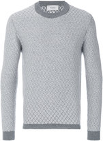Pringle diamond stitch sweater