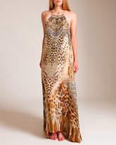 Camilla Leopards Leap Sheer Overlay Dress