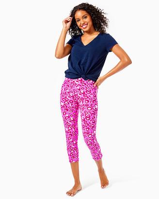 "Lilly Pulitzer UPF 50+ Luxletic 21"" Weekender High Rise Crop Legging"