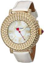 Betsey Johnson Women's BJ00219-02 Gold Watch