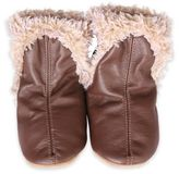 Robeez Size 0-6M Classic Baby Boot in Brown