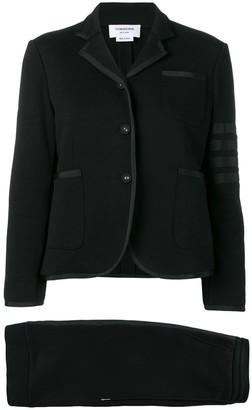 Thom Browne 4-Bar stripe skirt suit