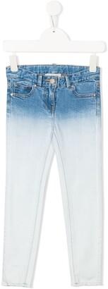 Stella McCartney Kids Gradient Skinny Jeans